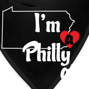 I'm a Philly Girl Cute Funny Love T-Shirt Shirts T Women's T-Shirts - Bandana