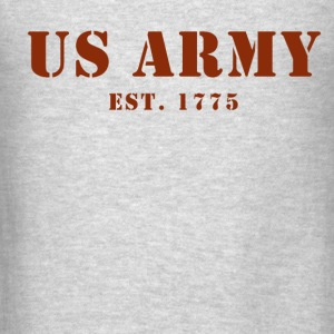 US Army est 1775 Men's Sweat Shirt - Men's T-Shirt