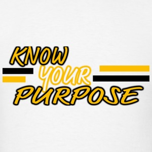 Know Your Purpose Long Sleeve Shirts - Men's T-Shirt