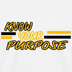 Know Your Purpose Long Sleeve Shirts - Men's Premium T-Shirt