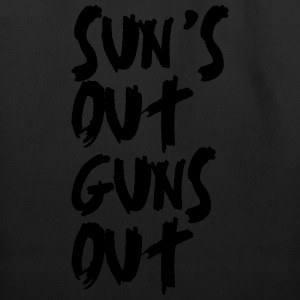 Sun's Out Guns Out Hoodies - Eco-Friendly Cotton Tote