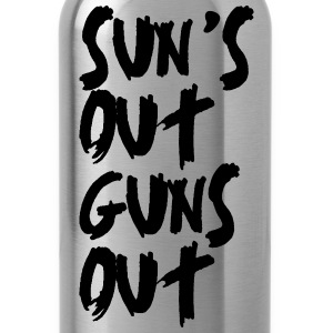 Sun's Out Guns Out Hoodies - Water Bottle