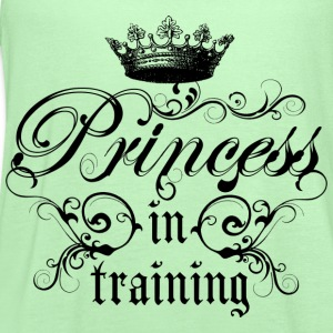 Princess In Training - Women's Flowy Tank Top by Bella