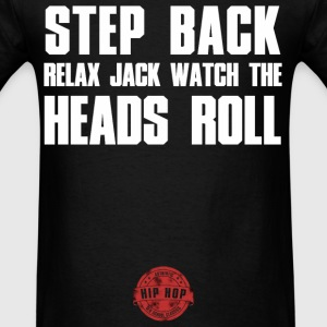 STEP BACK WHITE Hoodies - Men's T-Shirt