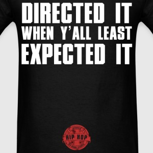 DIRECTED IT WHITE NEW Hoodies - Men's T-Shirt