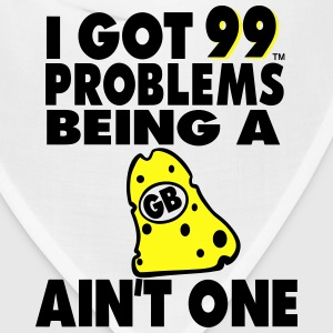 I GOT 99 PROBLEMS BEING A GB CHEESEHEAD AIN'T ONE - Bandana