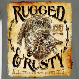 rugged and rusty Hoodies - Men's Premium T-Shirt