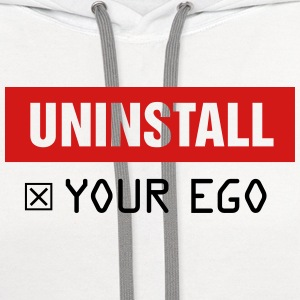 Uninstall Your Ego - Contrast Hoodie