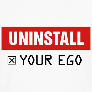 Uninstall Your Ego - Men's Premium Long Sleeve T-Shirt