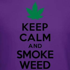 Keep calm and smoke weed Hoodies - Crewneck Sweatshirt