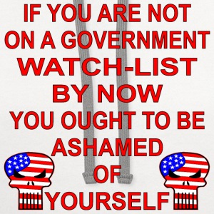If You Are Not On A Government Watch List You Shou - Contrast Hoodie