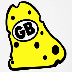 GB CHEESEHEAD  - Men's T-Shirt