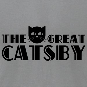 The Great Catsby Long Sleeve Shirts - Men's T-Shirt by American Apparel