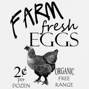 Farm Fresh Eggs - Men's Premium T-Shirt