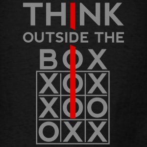 Think Outside The Box Bags & backpacks - Men's T-Shirt