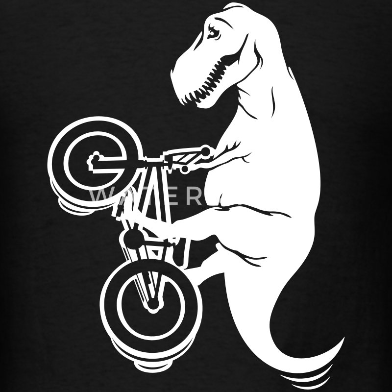 T-rex BMX Freestyle - Men's T-Shirt