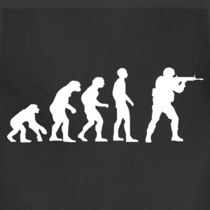 Evolution of source.png T-Shirts - Adjustable Apron