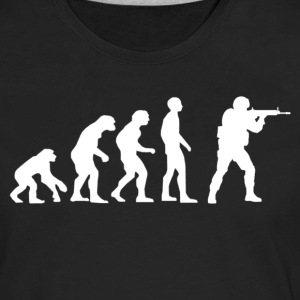 Evolution of source.png T-Shirts - Men's Premium Long Sleeve T-Shirt