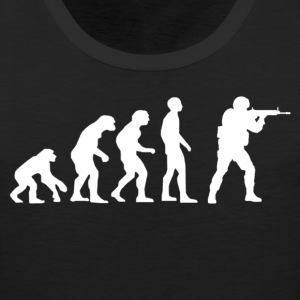 Evolution of source.png T-Shirts - Men's Premium Tank