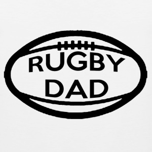Rugby Dad T-Shirts - Men's Premium Tank