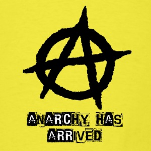 Baby   Punk 'Anarchy Has Arrived' Shirt - Men's T-Shirt