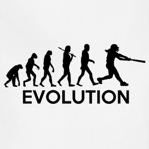 Evolution of a Softball Players T-Shirts - Adjustable Apron