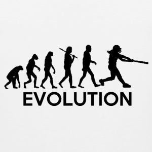 Evolution of a Softball Players T-Shirts - Men's Premium Tank