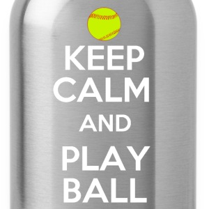 Keep Calm and Play On T-Shirts - Water Bottle