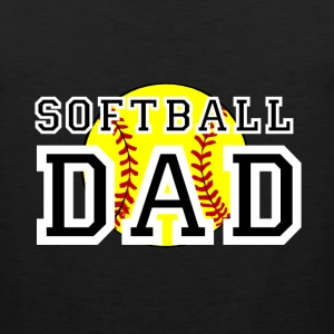 Softball Dad T-Shirts - Men's Premium Tank