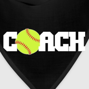 Softball Coach T-Shirts - Bandana