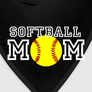Softball Mom T-Shirts - Bandana