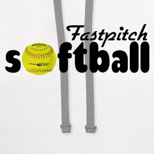 Fastpitch Softball T-Shirts - Contrast Hoodie