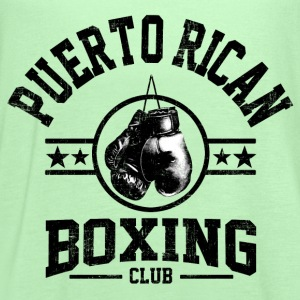 Puerto Rican Boxing Club T-Shirts - Women's Flowy Tank Top by Bella