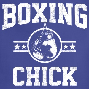 Boxing Chick Women's T-Shirts - Adjustable Apron