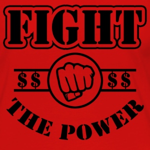 Fight The Power T-Shirts - Women's Premium Long Sleeve T-Shirt