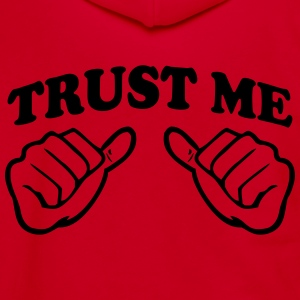 TRUST ME T SHIRT - Unisex Fleece Zip Hoodie by American Apparel