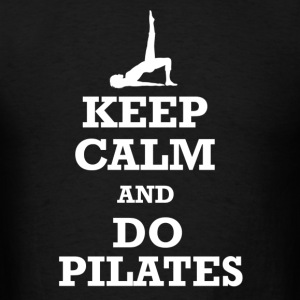 Keep Calm Pilates Hoodies - Men's T-Shirt