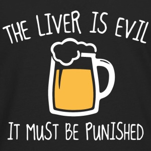 The Liver Is Evil - Men's Premium Long Sleeve T-Shirt