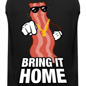 Bring home the Bacon T-Shirts - Men's Premium Tank