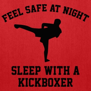 Sleep With A Kickboxer - Tote Bag