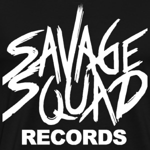 Savage Squad Recods Hoodies - Men's Premium T-Shirt