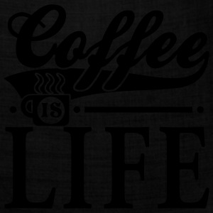 Coffee Is Life Graphic T-Shirt - Bandana