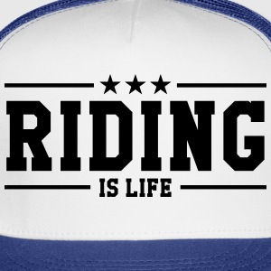Riding Women's T-Shirts - Trucker Cap