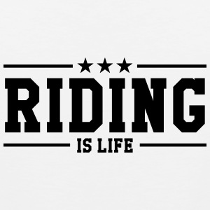 Riding Women's T-Shirts - Men's Premium Tank