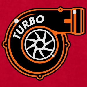 Turbo Charger - Men's T-Shirt by American Apparel
