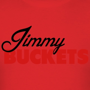 Jimmy Buckets Script Tee Hoodies - Men's T-Shirt