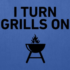 I Turn Grills On T-Shirts - Tote Bag