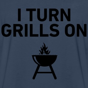 I Turn Grills On T-Shirts - Men's Premium Long Sleeve T-Shirt
