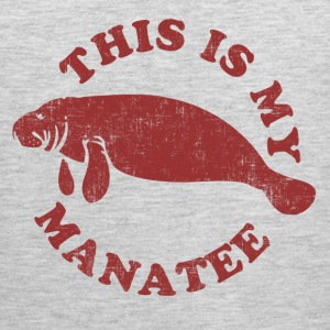 This Is My Manatee T-Shirts - Men's Premium Tank