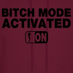 Bitch Mode On Tanks - Men's Hoodie